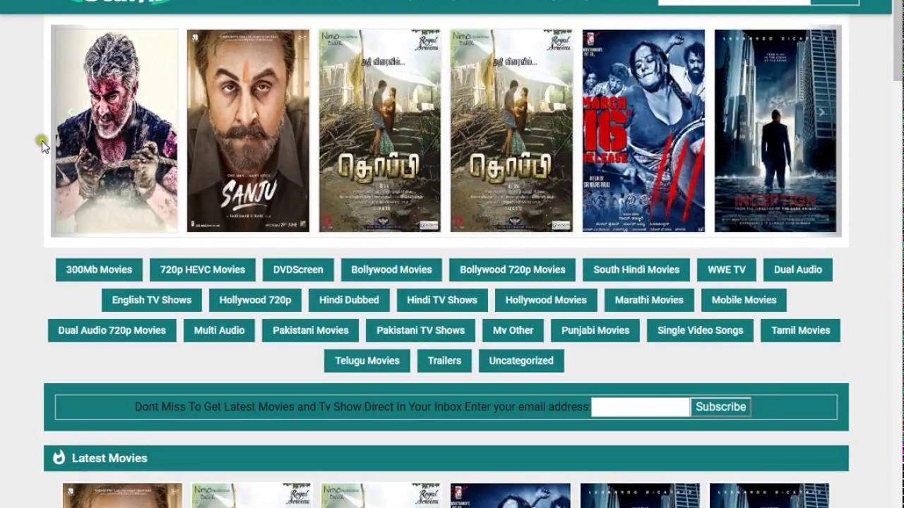 south hindi movies download website