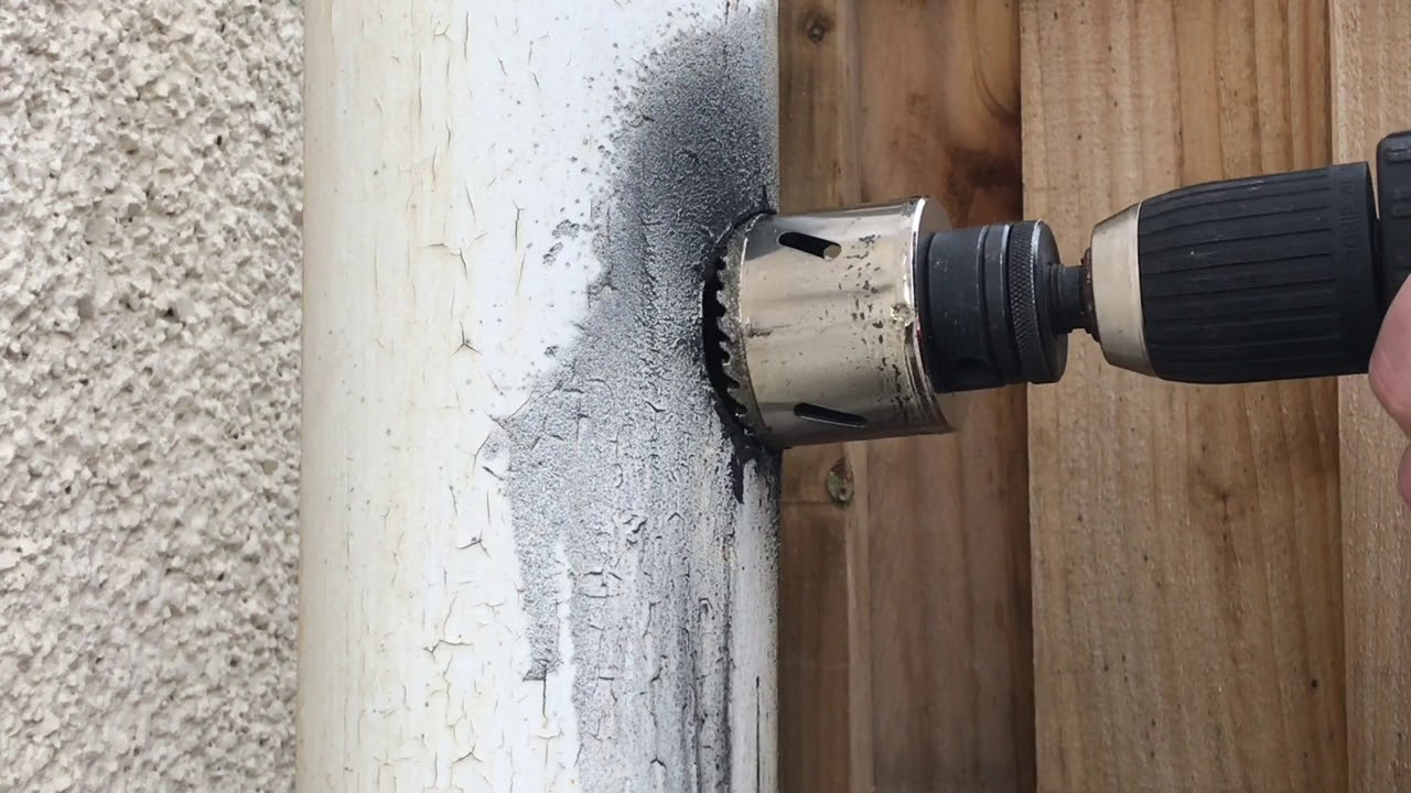 Drilling Through Cast Iron Tub