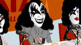 Kiss -cartoon