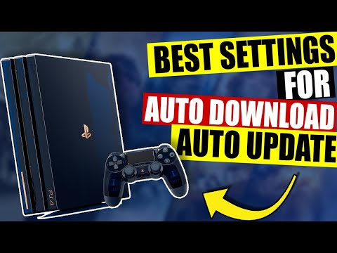 [FAST & EASY] Playstation 4: How To Setup PS4 Auto Update