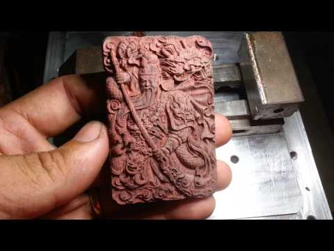 CKD Project - Micro mill cnc - Wood engraving
