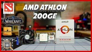 Will an Athlon 200GE run esports games ? CS:GO, DOTA, WoW