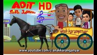 Adit Sopo Jarwo ✰ Lagu Naik Delman ✰ Animation Lagu Anak Indonesia Populer Sepanjang Masa