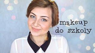 chitchat makeup makijaż i fryzura do szkoły biura za małe pieniądze