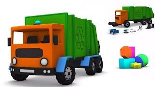 Játék doboz Garbage Truck | Szállítás videók gyerekeknek