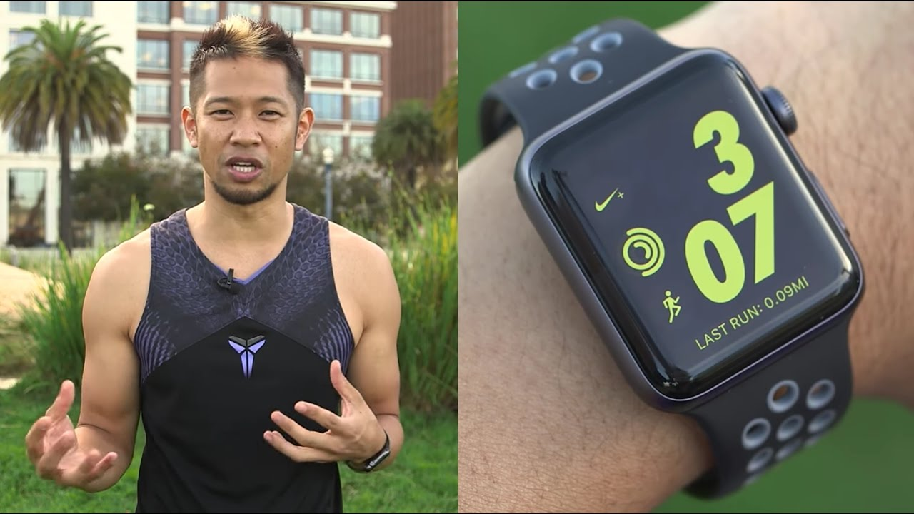 Girar en descubierto Hizo un contrato radio  Apple Watch Nike+ versus the Series 2. What's really different? - YouTube