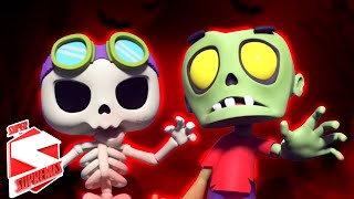 It's Halloween Night | Scary Videos For Kids | Scary Songs For Children