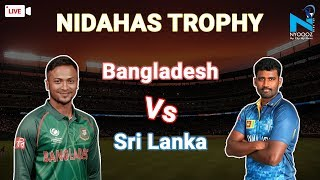LIVE  Sri Lanka Vs Bangladesh, 3rd T20I Cricket Score  | SLvsBAN T20 | NYOOOZ UP
