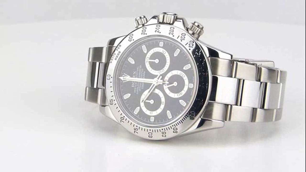 b2c54eaa3e393 les montres Rolex Oyster Cosmograph Daytona Réf 116520 d occasion de  demcoquartz.com