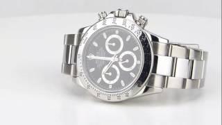 les montres Rolex Oyster Cosmograph Daytona Réf 116520 d'occasion de demcoquartz.com