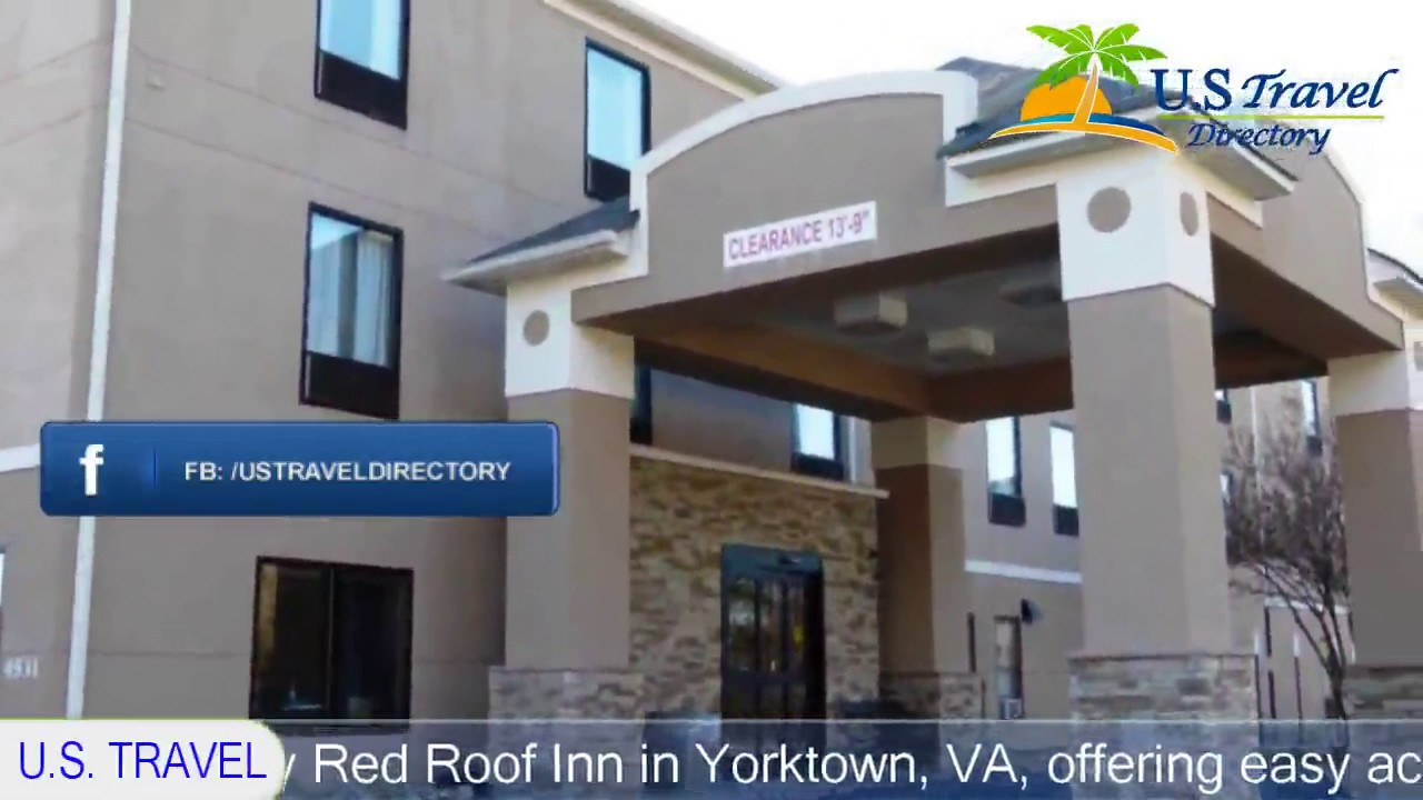 Red Roof Inn Yorktown   Grafton Hotels, Virginia