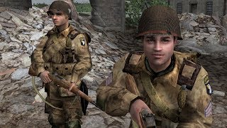 WW2 - Normandy - Battle of Carentan - Brothers In Arms Earned in Blood