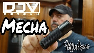 DJV DEJAVU Mecha Mechanical Mod - Full Switch Breakdown - Mike Vapes