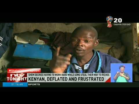 Kenyan, deflated and frustrated as the corrupt blatantly loot public coffers thumbnail