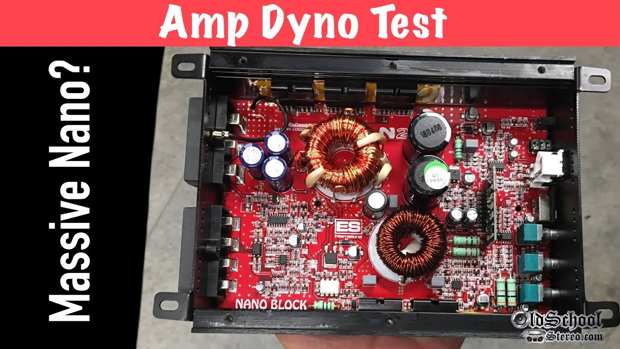 Massive Nano Mini Amp Big Power Claims Audio N2 Circuit Amplifiers Nanoblock