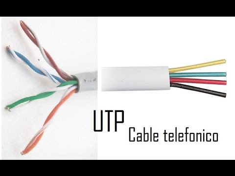Como hacer una extension de cable utp con cable telefonico youtube - Poner linea telefonica en casa ...