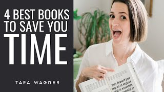 My 4 Best Books for Time Management (Tips, Strategies, AND Mindset)