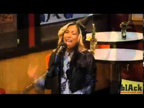 Melanie Fiona - Wrong Side Of A Love Song - Tom Joyner Morning Show In Studio Jam