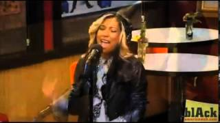 Melanie Fiona - Wrong Side Of A Love Song - Tom Joyner Morning Show In Studio Jam