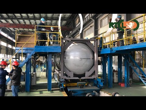 RTCL New Tanks Building Process
