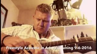 Freestyle Acoustic Guitar in Admiral Tuning(CGDGBC) 9-6-2016