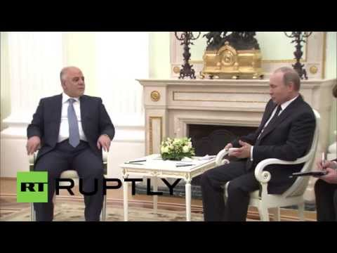 Russia: Putin and Iraqi PM discuss IS advances in Iraq