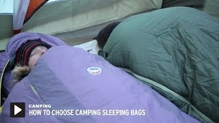 How to Choose Camping Sleeping Bags