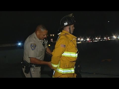 CHP Arrests Firefighter at Accident Scene