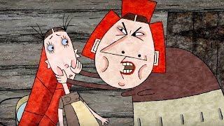 Развивающий мультфильм для детей  - Гора самоцветов - Крошечка-Хаврошечка + Птичья нога - сказки