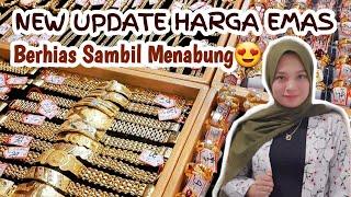 HARGA EMAS 24 Karat 2020 || Update Harga Emas Perhiasan Kadar 999 750 700 & 375 || tgl. 18 September