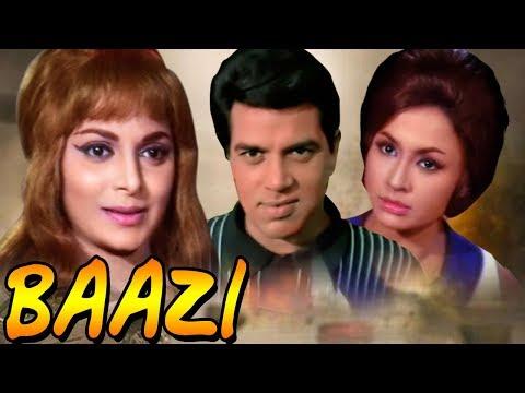 Baazi Full Movie   Dharmendra   Waheeda Rehman   Hindi Thriller Movie