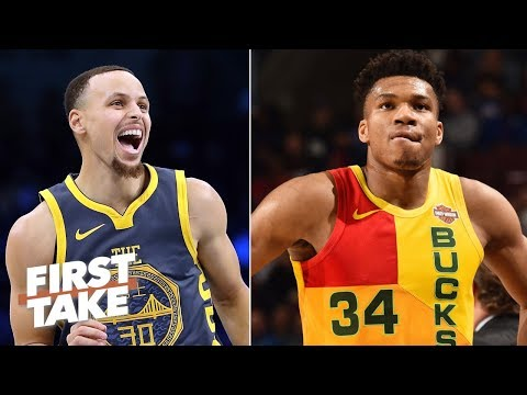 Giannis would be better than Steph Curry, KD in the NBA Finals - Max Kellerman   First Take