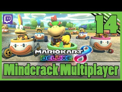 Mario Kart 8 Deluxe |  Mindcrack Multiplayer [Episode 14] |