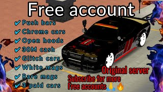 Download Free account #15 2021   Car parking multiplayer