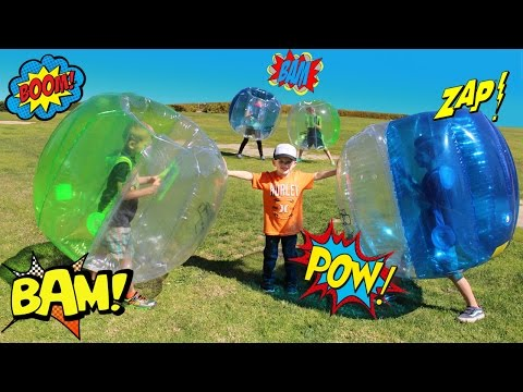 Giant Bubble Ball Challenge - Family Fun Pack Outdoor Fun Games