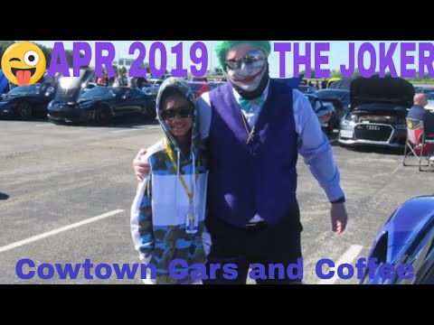 Cowntown Cars and Coffee Fort Worth Texas Motor SpeedWay