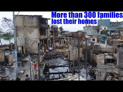 Travel to Manila Philippines and Meet the Families Who Lost Their Homes Because of FIRE