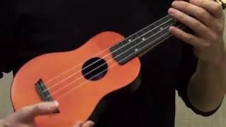 Учимся играть мелодии на укулеле правая рука постановка звукоизвлечения урок для самых начинающих