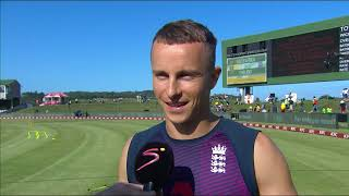 SA v England T20 Series | 1st T20 | Interview with Tom Curran