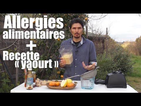 """10 min pour comprendre & soigner toutes les allergies +  """"yaourt végétal"""" express - www.regenere.org"""