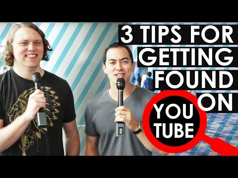 How to Get Discovered on YouTube — 3 Tips