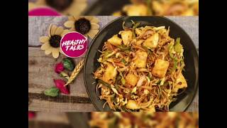 IDLI CHINESE NOODLES | HOW TO MAKE HEALTHY VEGETABLE NOODLES | BEST HEALTHY NOODLES