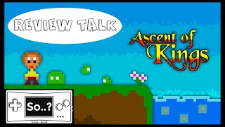 REVIEW TALK: Ascent of Kings (Wii U)