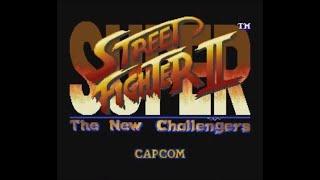 Super Street Fighter II: The New Challengers (SNES) - Longplay as Chun Li