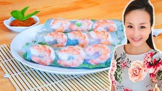 越南春捲 |夏日完美食譜|【美食天堂】家常料理食譜 一學就會