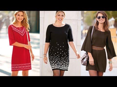 VESTIDOS BONITOS Y SENCILLOS De Moda Mujer 2020/ Fashion Love