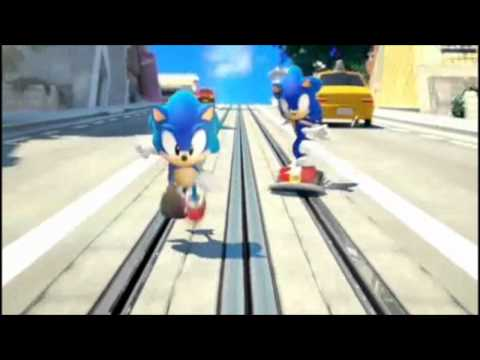 Sonic Generations City Escape Theme