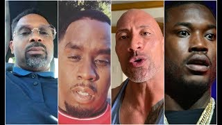 Celebs React To Kevin Hart Car Crash Diddy The Rock Meek Mill Mike Epps