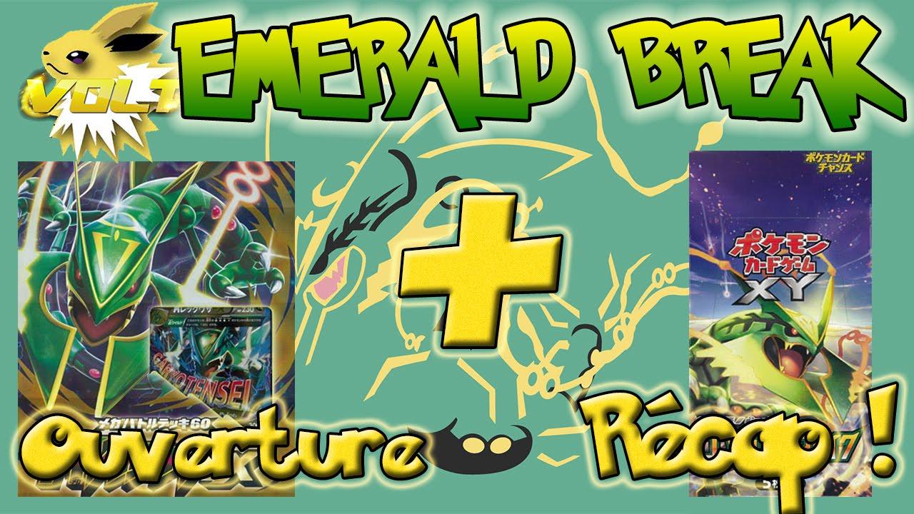 [Volt] Ouverture d'un Rayquaza Mega Battle Deck & Récapitulatif d'un SUPER Display Emerald Break