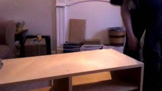 Building A Tv Cabinet (time Lapse)